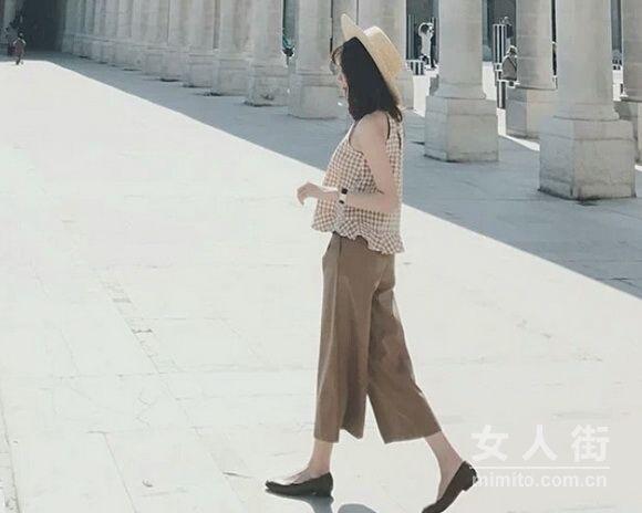 显瘦阔腿裤 入秋不想体验一下吗?
